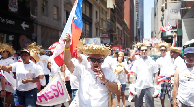 Puerto Rican Parade '15