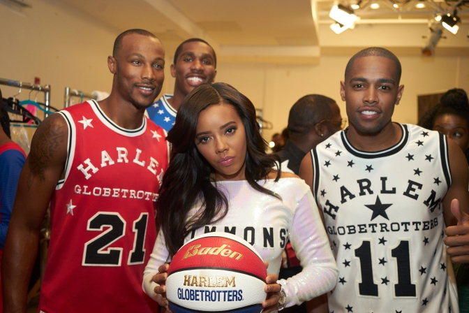Angela Simmons Presents: 90Years of Harlem Globetrotters Fashion Show